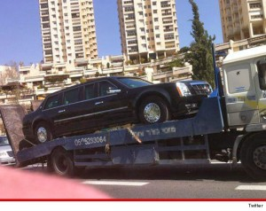 When the entire government is broken and dysfunctional, it's a miracle that the presidential limo lasted that long....