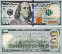 For additional security, you can replace Benjamin Franklin with your own photo.