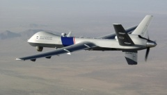 A predator drone on surveillance oversight program.