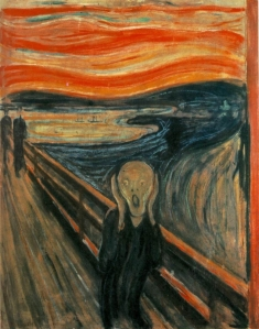 Late stage of Ebolaphobia, by Edvard Munch.