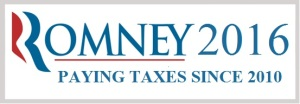 Mitt Romney's 2016 campaign logo.
