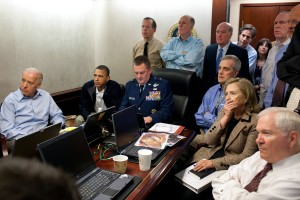 And this famous photo that supposedly shows the White House officials watching the bin Laden raid? They're actually watching the American Idol.