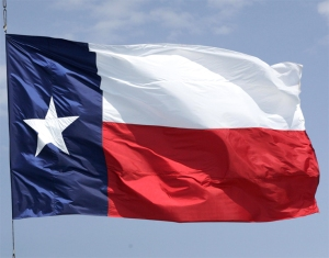 "Thousands of Texans are preparing to defend the flag of Texas (also known as ""American flag for dummies"")."