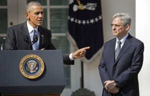 "In his impassioned speech in defense of his nominee, Barack Obama pointed out Garland's major strength as a potential Justice: ""Look how old this guy is! He'll probably die in a couple of years anyway, and you'll be free to replace him with anyone you like!"""