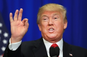 Donald Trump is showing approximately how much federal tax he has paid since 1980. Image source: theodysseyonline.com